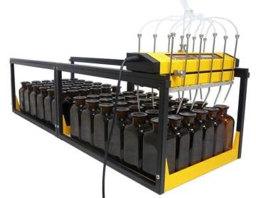 Fraktionssammler für 250 ml Laborflaschen