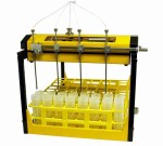 Multifraktionssammler mit Zentrifugenröhrchen